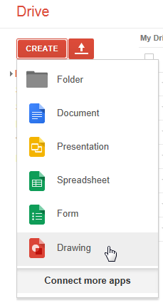 Google Drive Create Apps