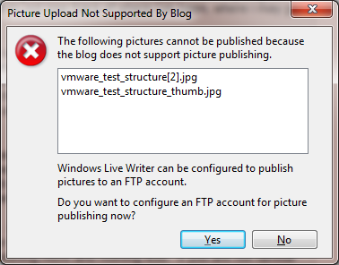 Picture Upload Not Supported By Blog