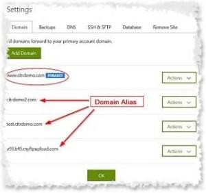 Managed WordPress Domains