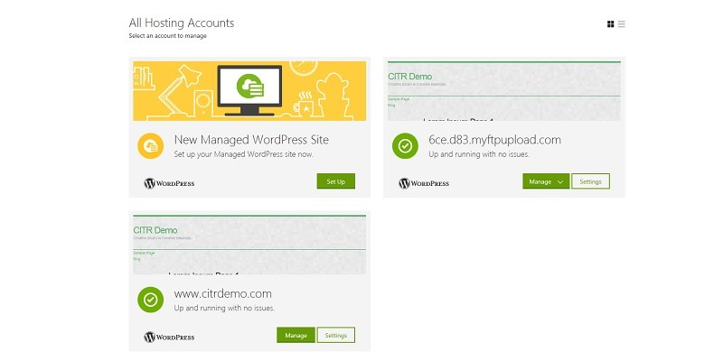 Overview of GoDaddy Business Managed WordPress Hosting