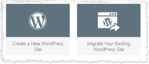 GoDaddy Managed WordPress Install Option